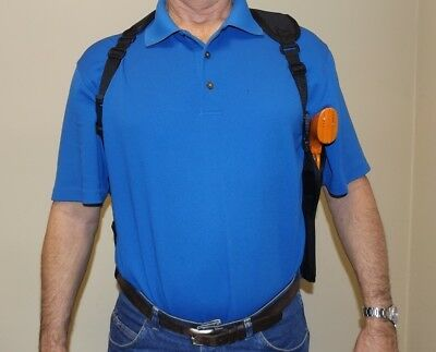 203 R Shoulder Gun Holster Right Hand Draw RUGER LCP W// Free Gun Cleaning Kit