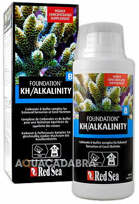 RED SEA REEF FOUNDATION B KH/ALKALINITY 500ml SUPPLEMENT CORAL MARINE AQUARIUM