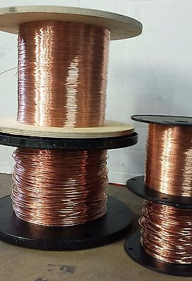 24 AWG Bare copper wire - 24 gauge solid bare copper - 5000 ft