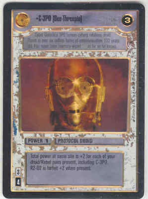 You-Threepio Star Wars CCG Reflections I VRF Very Rare Foil U-3PO