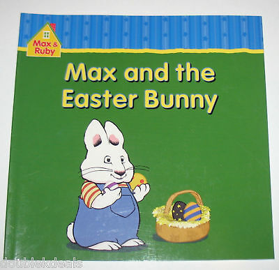 New Max & And Ruby Book ~ Max And The Easter Bunny