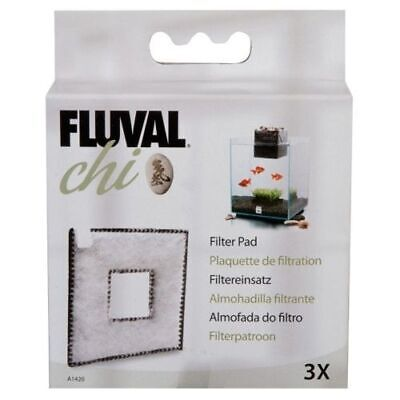 Fluval Chi Fish Tank Replacement Filter Pad 3Pk