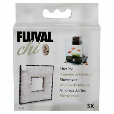 Hagen Fluval Chi Fish Tank Replacement Filter Pad 3Pk