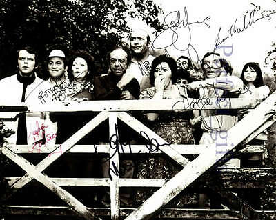 Carry On Camping Cast Signed / Autographed Re-Print #28