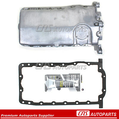 Fits 1998-06 VW Beetle Golf Jetta 1.9L 2.0L 038103601NA Engine Oil Pan w/ Gasket