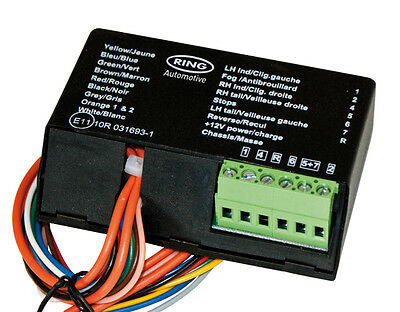 Ring Towing Rct485 12N Smart Logic Relay Canbus/Multiplex (C/W Buzzer)