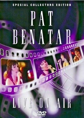 PAT BENATAR - Live On Air - Collectors Edition DVD  NEW