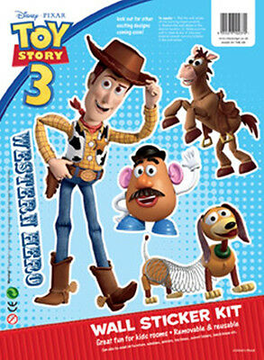 Disney Children's / Kids Toy Story 3 Collectors Wall Stickers - Woody