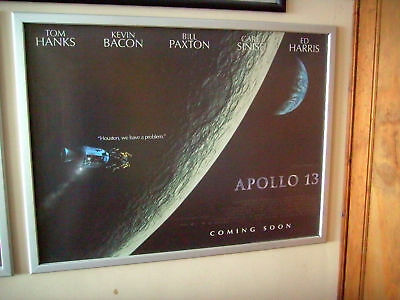 Apollo 13 Original Coming Soon Advance Quad Poster 1995