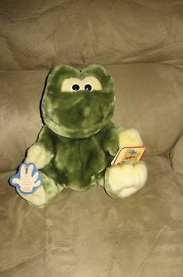 "New 10"" Full Body Plush Frog Hand Puppet w/ Tags"