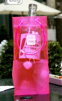 Seau A Champagne Transparent Rose - Ice Bag