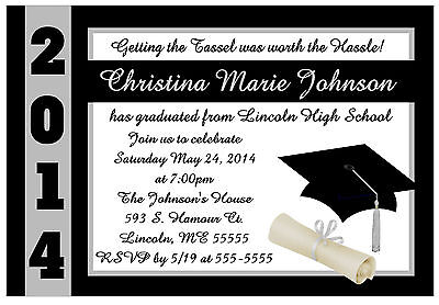 Graduation Invitations Announcements