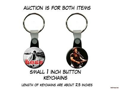 BRUCE SPRINGSTEEN set of 2 Key Chains
