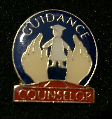 """GUIDANCE COUNSELOR"" Lapel Pins/5/All New!"