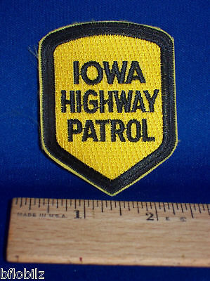 Iowa State Trooper Highway Patrol Police Officer Patch