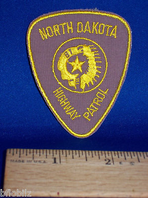 North Dakota Highway Patrol State Police Officer Patch