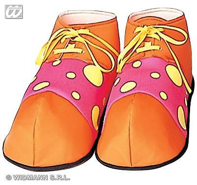 Clown Shoes Covers Fancy Dress Adult Costume Accessory
