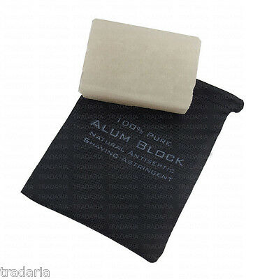 New Natural Alum Shaving Block Antiseptic Antibacterial Astringent Aftershave