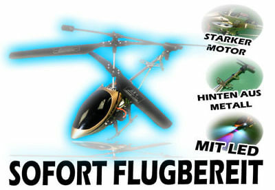 Gyro R/C Helikopter Helicopter Hubschrauber