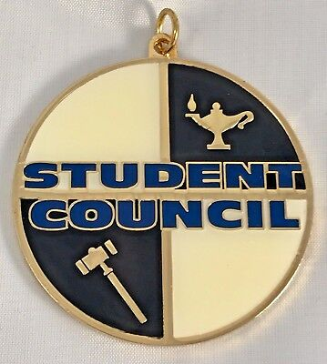 """STUDENT COUNCIL"" Medallions/10/New in Bags!"