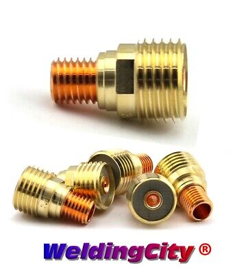 "5-pk TIG Welding Gas Lens Collet Body 45V43 1/16"" Torch 9/20 US Seller Fast Ship"