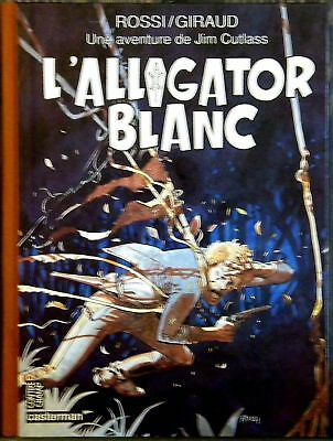 Les Aventures De Jim Cutlass  - L' Alligator Blanc