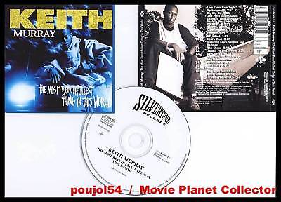 """KEITH MURRAY """"The most beautifullest thing"""" (CD) 1994"""