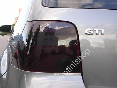 99-05 Golf Gti Smoke Tail Light Tint Cover Black Out