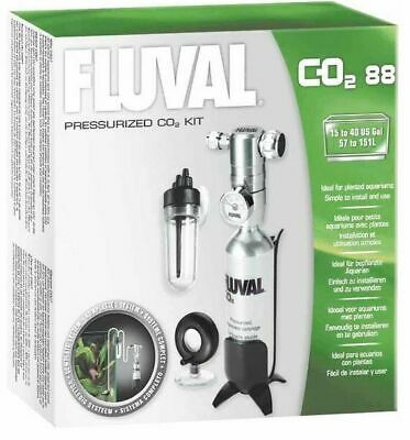 FLUVAL PRESSURISED CO2 SYSTEM KIT 88g FISH TANK #A7545