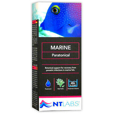 Nt Labs Parazoryne Marine Reef Fish Tank Treatment 100Ml Parasitic Infections