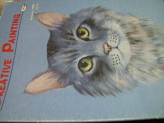 Creative Painting Magazine #17 January 1989 Russian Necklaces, Cat, Windmill