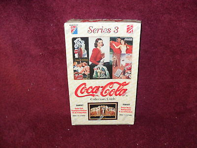 "COCA-COLA 1995 Issue ""SERIES 3"" COLLECTOR Cards (FULL Waxbox)"