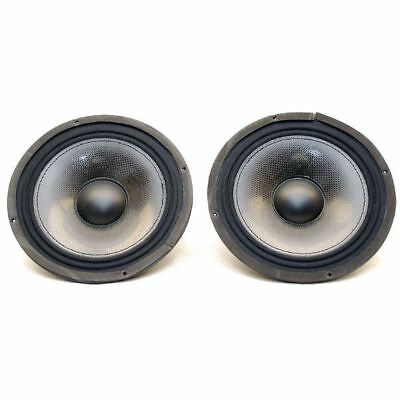 Extreme Towers Carbon Fiber 8 1/2 Inch Marine Boat Stereo Speakers (Pair)