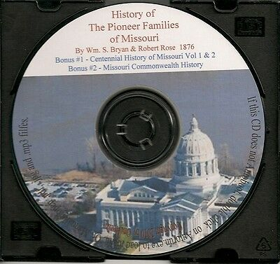 Pioneer Families of Missouri - History and Genealogy