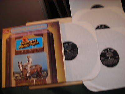 GENE AUTRY'S Melody Ranch Radio Show 4-Record Box Set