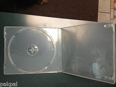 200 New 12Mm Super Clear Single Poly Cd/dvd Cases Psc12Sc