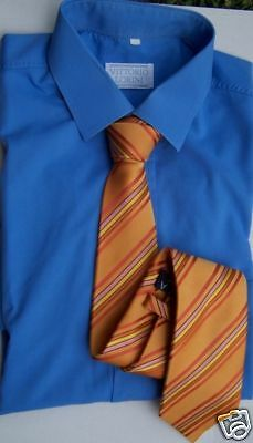 Cravatta Pura Seta Foderata Made In Italy Tie Silk 56