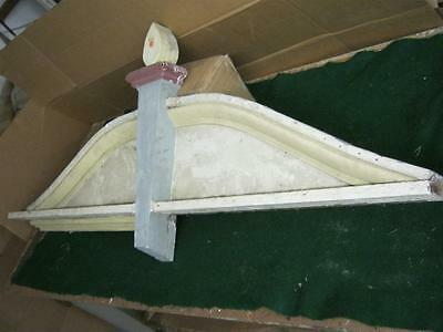1 Architectural Salvage Victorian Pediment Gingerbread 8848