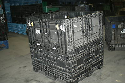 Pallet Box Storage Container Bin Collapsible Automotive Roofing Ice Trade Show