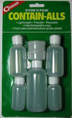 05ca471445 Coghlan's 8525 Store & Pour Contain-Alls Containers