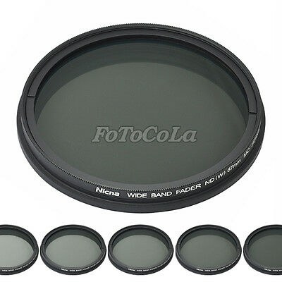 46mm fader ND filter adjustable variable ND2 to ND400