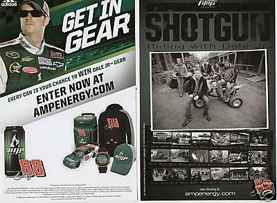 Dale Earnhardt Jr 2009 Get In The Gear Postcard Nascar