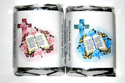 120 1st HOLY COMMUNION CANDY WRAPPERS PARTY FAVORS