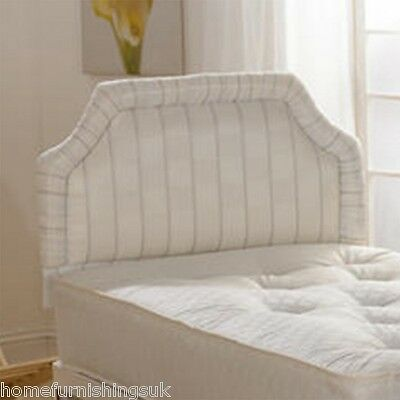 4ft Small Double Chester upholstered headboard for beds