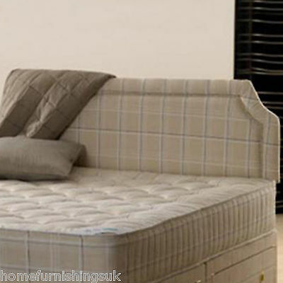2ft 6 Small Single Paris upholstered headboard for beds