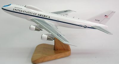 boeing e 4b naoc usa air force airplane wood model xxl free shipping