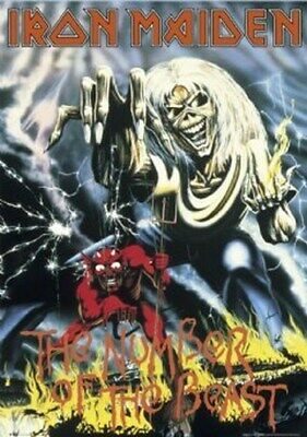 Iron Maiden Poster - The Number Of The Beast - 24X36