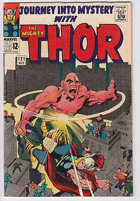 Journey Into Mystery # 121 Thor Absorbing Man 1965