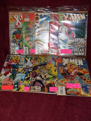 "LOT of TEN (10) ""DC COMICS"" MARVEL ""X-MEN""SEALED ""NEW"" Collectible ""COMIC BOOKS"""