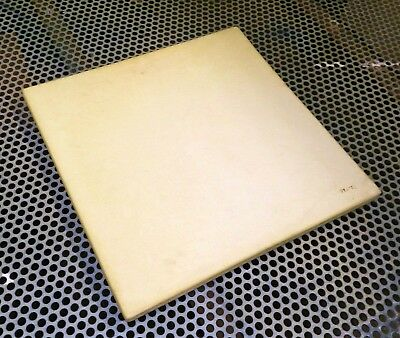 "Soldering Board Melting Bench Ceramic Heat Plate 11"" Square Plate 1/2"" Thick"